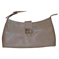 Vintage Salvatore Ferragamo beige handbag