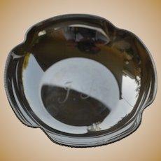 Vintage sterling silver ashtray