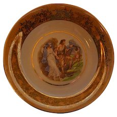 Vintage Bavaria plate Jaeges and Co. german porcelain