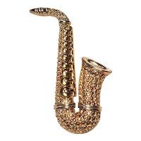 Vintage Danecraft Saxophone Instrument Pin