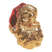 Vintage Santa Claus Christmas Pin