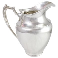 Wallace Silver Plated Water Pitcher N3204
