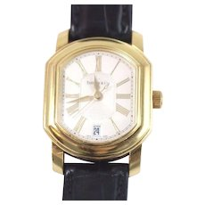 Tiffany & Co. 18k Yellow Gold Mark Coupe Automatic Watch Roman Dial