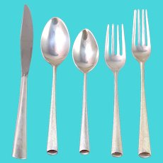 67 Piece Wallace 'Royal Satin' Sterling Silver Flatware Set