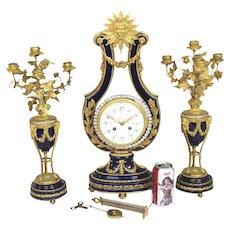 Victorian Black Walnut Clock Shelf With Lion Head And