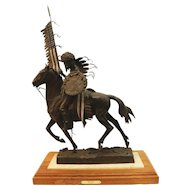 """Large Bronze Sculpture """"Ole Glory"""" by Dave McGary"""