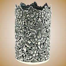 Yogya 800 Silver Vintage Pencil Cup