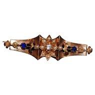 Victorian Gold Brooch