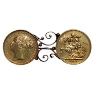 Victorian Sovereign Pin