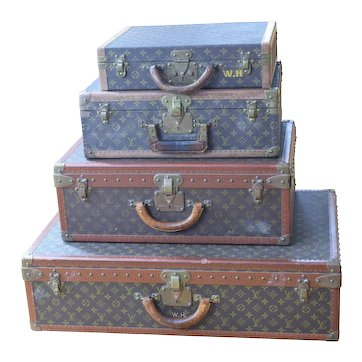 Louis Vuitton Luggage Group - Vintage