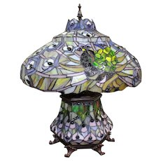 Ornate Tiffany Style Table Lamp