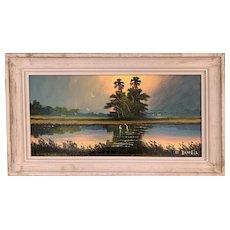 Willie Daniels - Highwaymen Florida Oil Painting