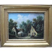 Zulime Barsac (b1809) French School 1837 Oil Painting