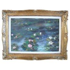 Yannick DE SAINT-AMANS (1953) French Post Impressionist Oil Painting