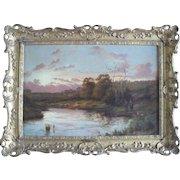 Joseph PAULMAN (XIX-XX) English School Landscape Oil Painting