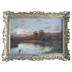 Joseph PAULMAN (XIX-XX) English School Landscape Oil Painting