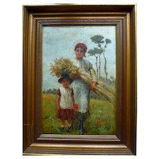 George Faulkner Wetherbee, R.I., R.O.I. (Cincinnati, 1851–1920) Oil Painting