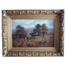 John Joseph HUGHES (c.1827-1908) Oxford/West Bromwich Oil Painting