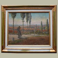 French Picardy Landscape 1938