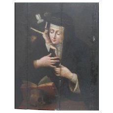 St Marie of the incarnation c1791 Oil Painting.