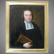 G F HERZOG c1760 Johann Christian Kessler (1728-1775) German Sch. Oil Painting.