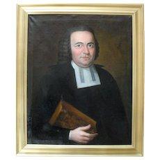 G F HERZOG c1760 Johann Christian Kessler (1728-1775) German Sch. Oil Painting.