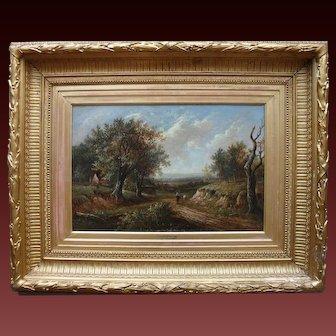 Joseph Thors (1835-1900) English Landscape Godalming Surrey.