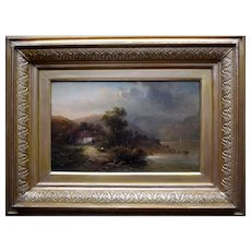 Herbert BOND c1880 Snowdonia North Wales Oil Painting