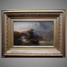 Herbert BOND c1880 Snowdonia North Wales Oil Painting