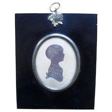 .H. GILLESPIE (1793-c.1838) Portrait Miniature Silhouette