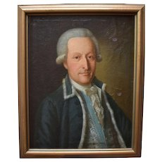 Danish School c1775 Portrait of a Gentleman