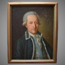 Danish School c1775 Portrait of a Gentleman