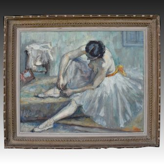 Maurice Deminne Brussels School Post impressionist c1930