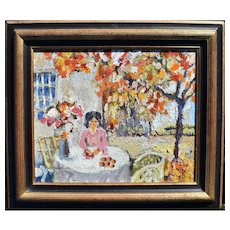 Katia PISSARRO (1936-2001) Rare French Post Impressionist