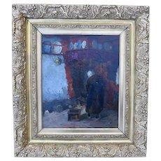 Castle KEITH (1863-1927) Detroit, Dutch Artist c1900