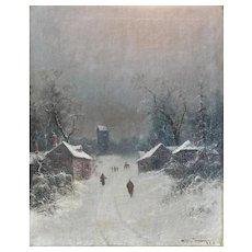 Nils Hans Christiansen R.A.C. Danish 1850-1922