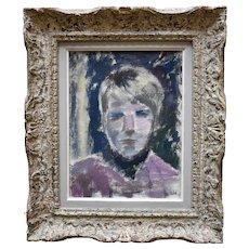 Brita WALLIN (1913-2005) Self Portrait Swedish School