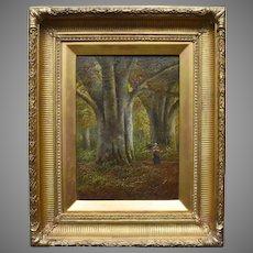 English School c1890 Victorian Landscape