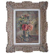 French Post Impressionist c1940 Oil Painting
