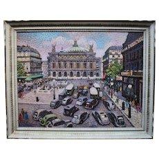 Lucien Maxime ROUBINET (1926) Paris, Opera House