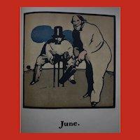 William NICHOLSON (1872-1949) First Edition 12 Sporting Prints