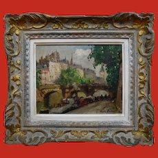 Merio Ameglio (1897-1970 )Paris 1946 Post impressionist