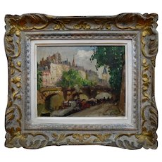 Merio Ameglio (1897-1970 )Paris 1946 Post impressionist
