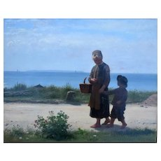 Anton DORPH (1831-1914) Danish 1903