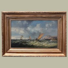 John James WILSON RBA (1818-1875) Seascape 1870