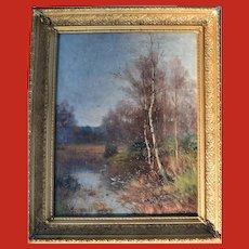 Thomas Tayler IRELAND (act.1880-1927) Oil Painting 1895