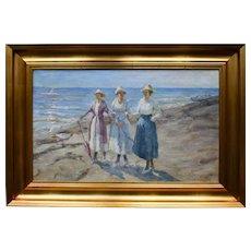 Mark Osman CURTIS (1879-1959) 1920 Scottish/Danish Impressionist