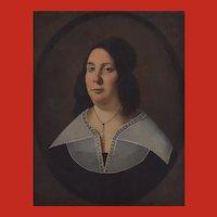 18th Century Dutch School Portrait of a Lady of Quality