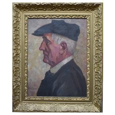 Portrait in Profile Hofner 1915
