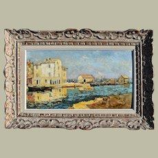 Henri OLIVE DES MARTIGUES c1925 French Impressionist